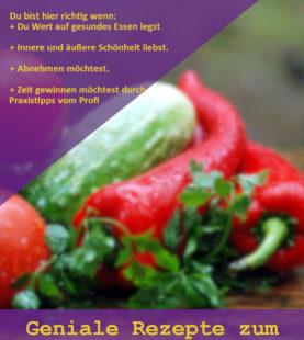 Gratis Bereich – So sieht es in der online Kochschule aus! Teste direkt die ersten Videos und Rezepte